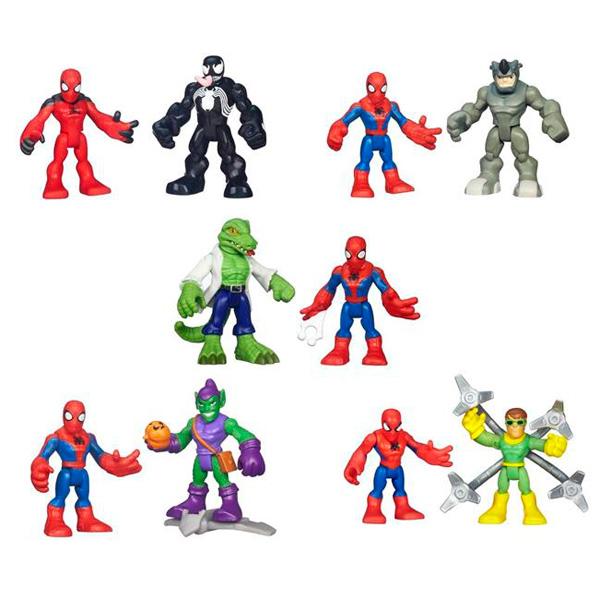 Hasbro Playskool Heroes A7109 Фигурка героев Марвел 2-в-1 (в ассортименте), арт:140447 - Супергерои, Игровые наборы