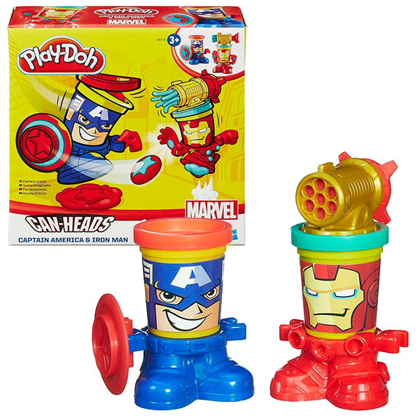 Купить Hasbro Play-Doh B0594 Герои Марвел (в ассортименте), Набор для творчества Hasbro Play-Doh