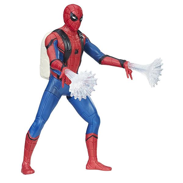 Hasbro Spider-Man B9765/C0420 Фигурки Человека-Паука Паутинный город 15 см Человек-Паук, арт:149396 - Супергерои, Игровые наборы