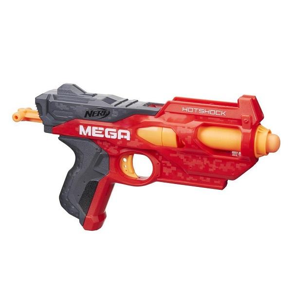 Купить Hasbro Nerf B4969 Нерф Бластер ЭнСтрайк Мега Хотшок, Игрушечное оружие и бластеры Hasbro Nerf