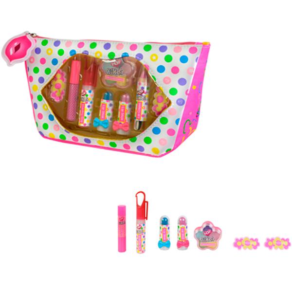 Купить Markwins 3704851 POP Игровой набор детской декоративной косметики в сумочке, Косметика для девочек Markwins