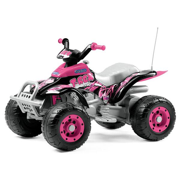 Купить Детский электромобиль Peg-Perego OR0073 Corral T-Rex (розовый)