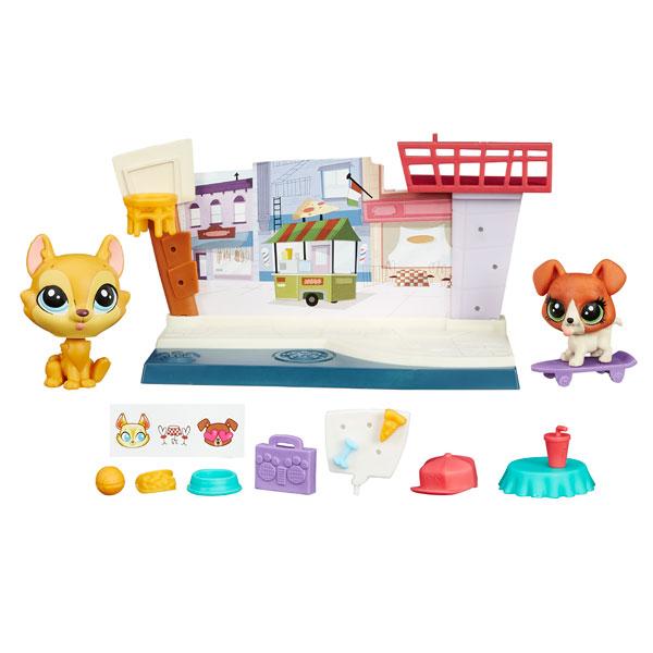 Купить Hasbro Littlest Pet Shop B4482 Литлс Пет Шоп Рассказы о зверюшках (в ассортименте), Игровой набор Hasbro Littlest Pet Shop