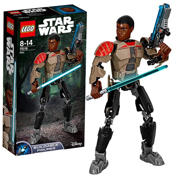 Купить Lego Star Wars 75116 Лего Звездные Войны Финн, Конструктор LEGO