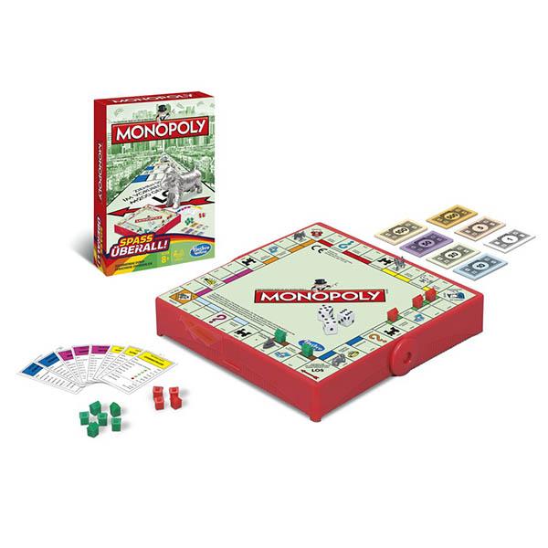Купить Hasbro Monopoly B1002 Настольная игра Монополия - Дорожная версия, Настольная игра Hasbro Monopoly