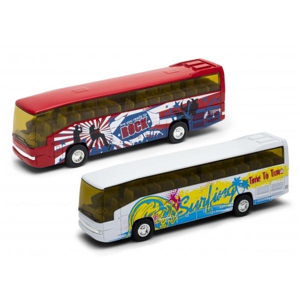 Игрушечные машинки и техника Welly — Welly 95948 Велли Модель автобуса