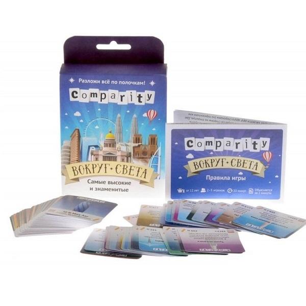 Купить Magellan MAG06814 Настольная игра Comparity Вокруг света, Настольные игры Игры