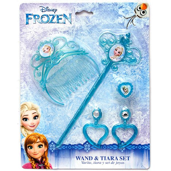 Принцессы 82582 Набор украшений Холодное сердце с волшебной палочкой