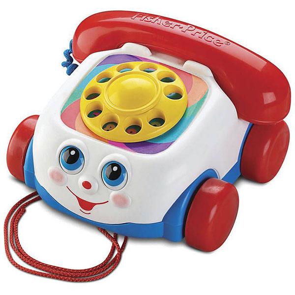 Купить Mattel Fisher-Price FGW66 Фишер Прайс Телефон на колесах, Развивающие игрушки для малышей Mattel Fisher-Price