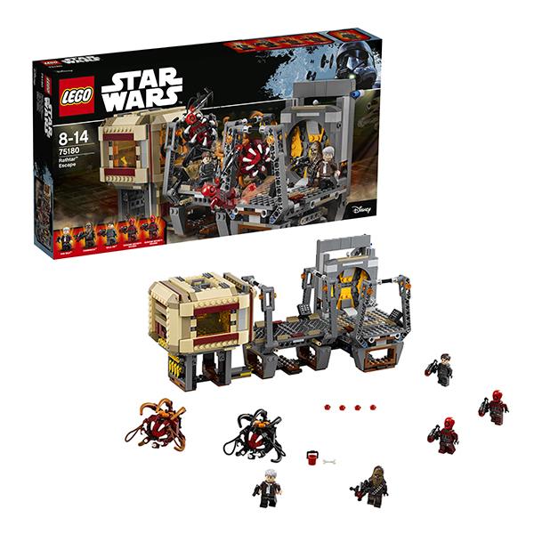 Купить LEGO Star Wars 75180 Конструктор ЛЕГО Звездные Войны Побег Рафтара, Конструктор LEGO