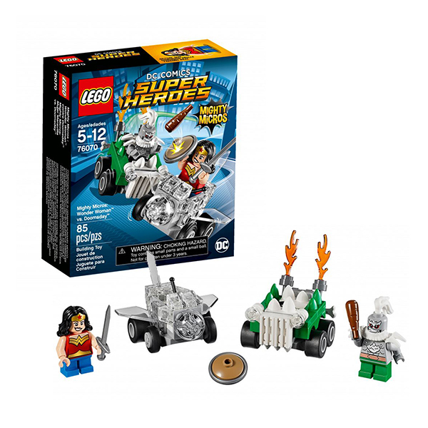 Lego Super Heroes Mighty Micros 76070 Конструктор Лего Супер Герои Чудо-женщина против Думсдэя - Конструкторы LEGO
