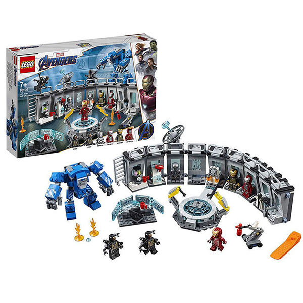 Купить Lego Super Heroes 76125 Супер Герои Лаборатория Железного человека, Конструкторы LEGO