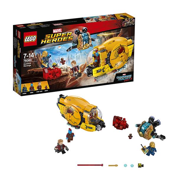 Купить Lego Super Heroes 76080 Лего Супер Герои Месть Аиши, Конструктор LEGO