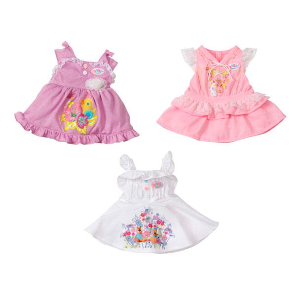 Купить Zapf Creation Baby born 819-418 Бэби Борн Платье (в ассортименте), Одежда для куклы Zapf Creation