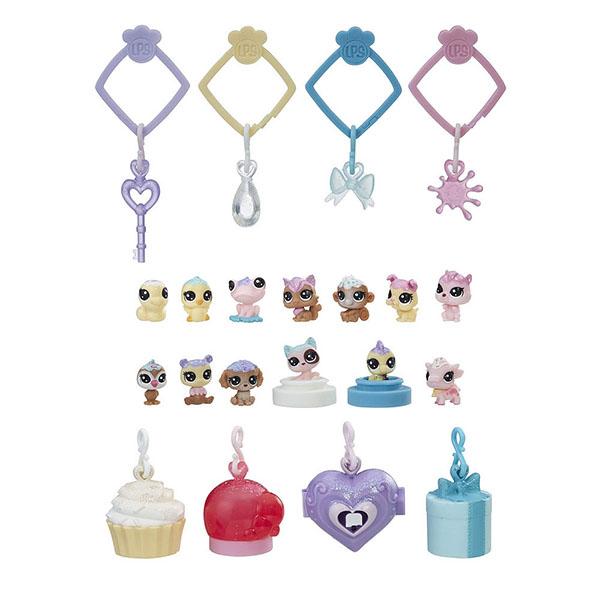 Купить Hasbro Littlest Pet Shop E0400 Литлс Пет Шоп Набор игрушек 13 Зефирных Петов, Игровой набор Hasbro Littlest Pet Shop