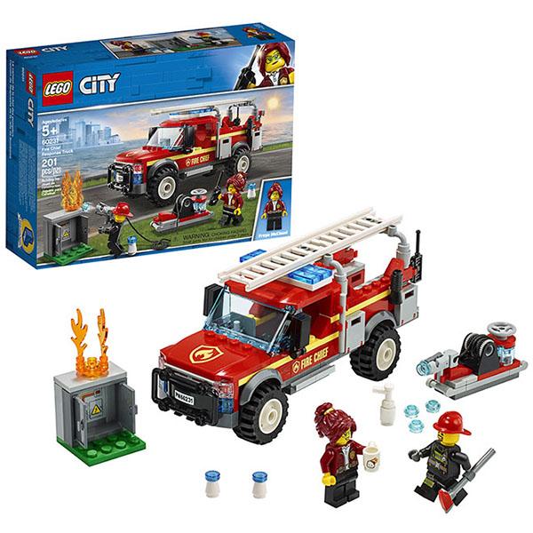 Купить LEGO City 60231 Конструктор Лего Грузовик начальника пожарной охраны, Конструктор LEGO