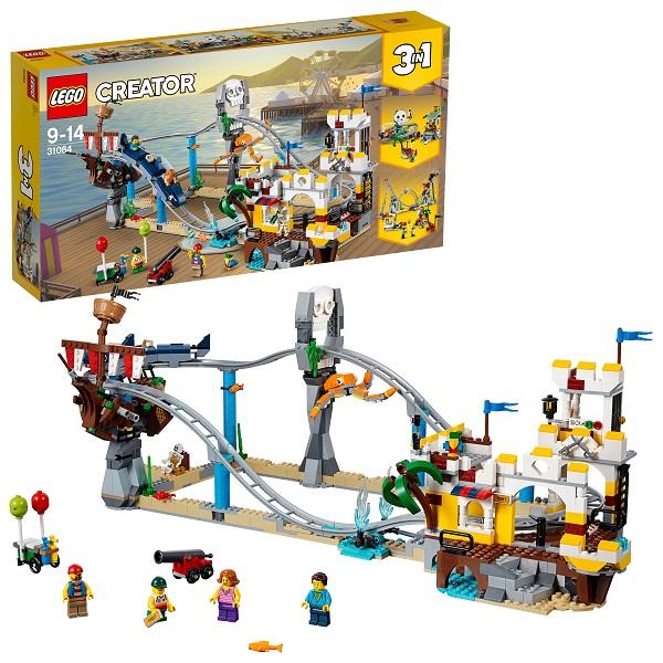 Lego Creator 31084 Конструктор Лего Криэйтор Аттракцион Пиратские горки, арт:154804 - Криэйтор, Конструкторы LEGO