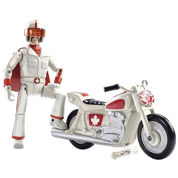 Купить Mattel Toy Story GFB55 История игрушек-4, Игровой набор Canuck&Boom Boom Bike, Игровые наборы и фигурки для детей Mattel Toy Story