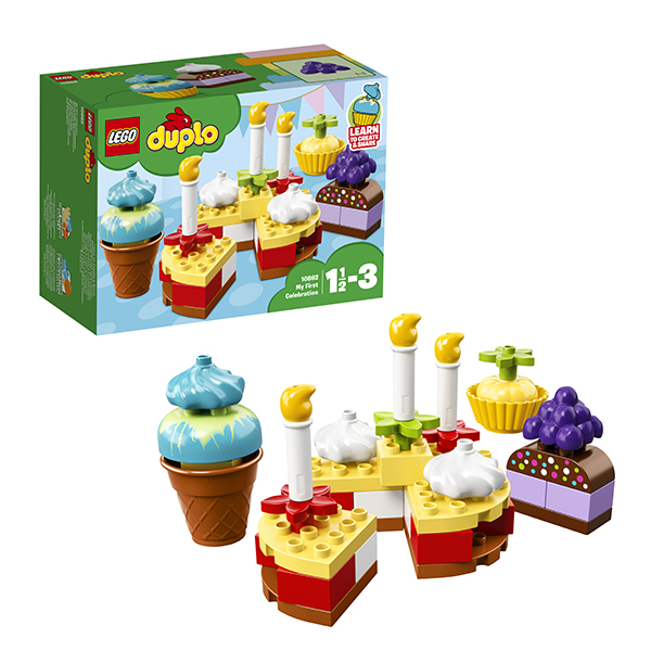 Купить Lego Duplo 10862 Лего Дупло Мой первый праздник, Конструкторы LEGO
