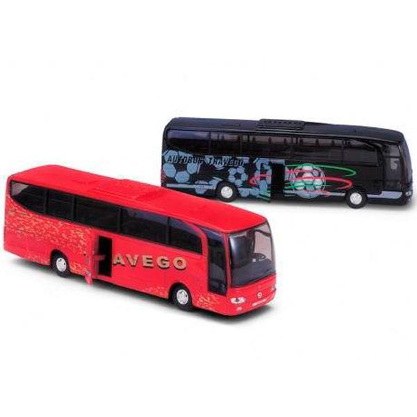 Welly 52590 Велли Модель автобуса Mercedes-Benz (в ассортименте), Машинка Welly  - купить со скидкой