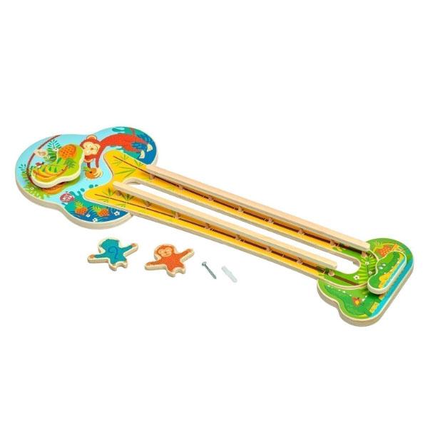 Купить Lucy&Leo LL240 Горка настенная Хитрая обезьянка , Деревянные игрушки Lucy&Leo