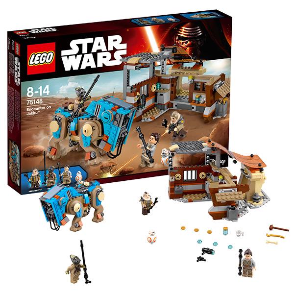 Купить Lego Star Wars 75148 Конструктор Лего Звездные Войны Столкновение на Джакку, Конструктор LEGO