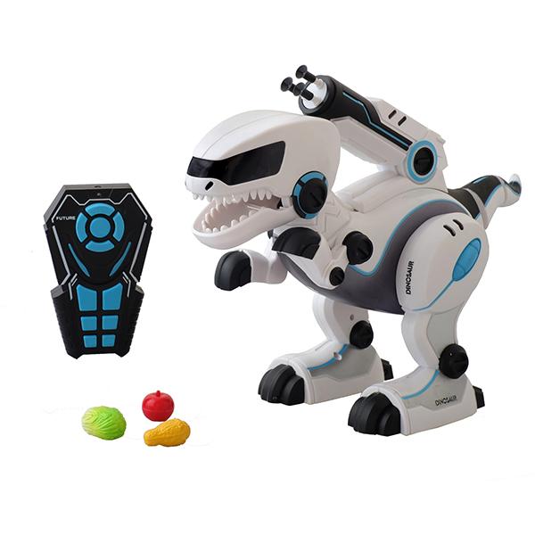 """Радиоуправляемая игрушка HK Industries HK Industries A005S Динозавр р/у """"Покорми меня"""" по цене 4 599"""