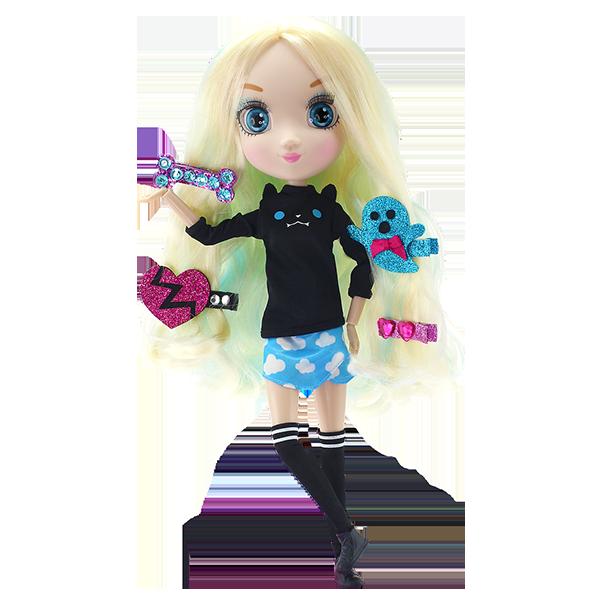 Купить Shibajuku Girls HUN6618 Кукла Мики, 33 см, Кукла Shibajuku GIRLS