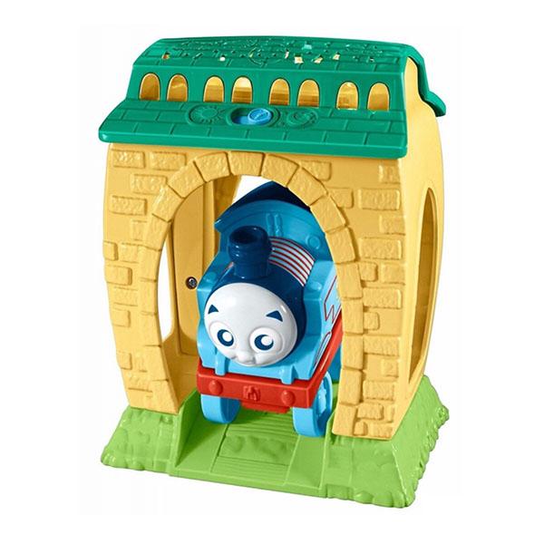 Купить Mattel Thomas & Friends FFX56 Томас и друзья Игровой набор с проекцией и звуками День и Ночь , Развивающие игрушки для малышей Mattel Thomas & Friends