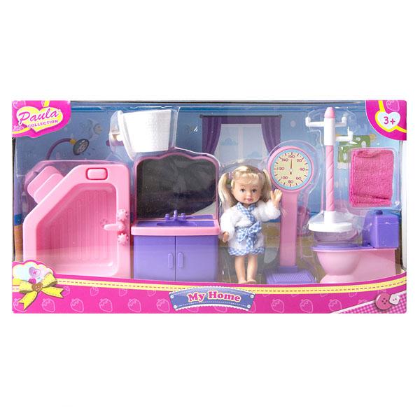 Купить Paula MC23110c Игровой набор Мой дом ванная, Игровые наборы Paula