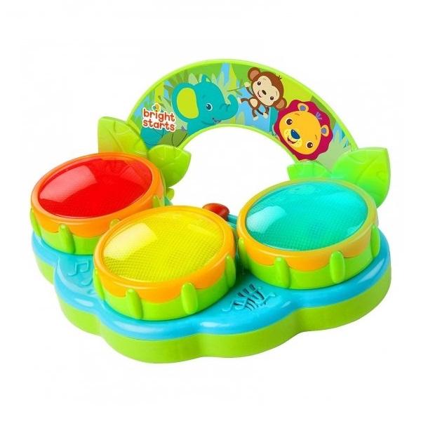 Купить BRIGHT STARTS 52269 Музыкальная игрушка Барабаны Сафари , Музыкальная игрушка BRIGHT STARTS