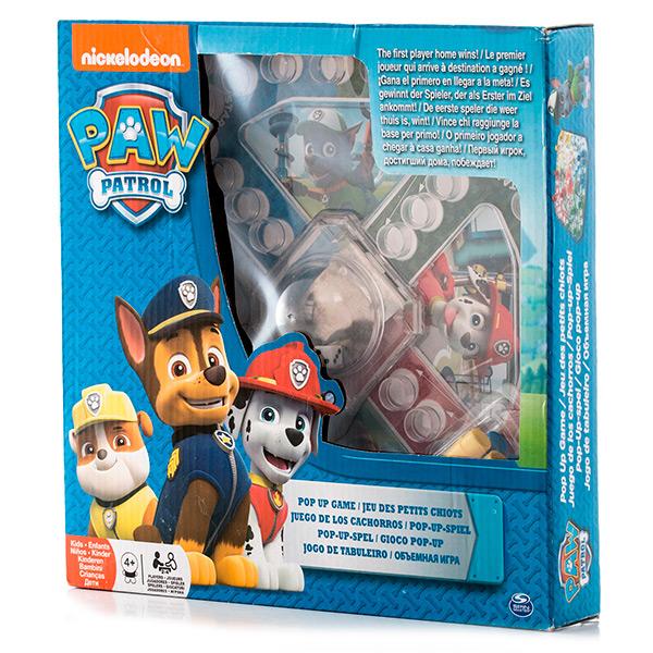 Настольная игра Paw Patrol - Игры для детей, артикул:137308