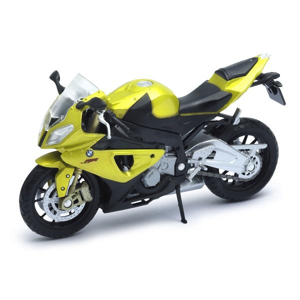 Welly 12810P Велли Модель мотоцикла BMW S1000RR - Транспорт
