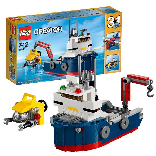 Lego Creator 31045 Конструктор Лего Криэйтор Морская экспедиция