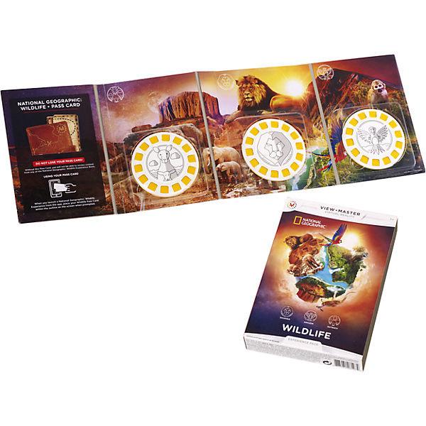 Mattel View Master DLL71 Набор визуализации National Geographic, арт:146928 - Обучающие игры, Интерактивные игрушки