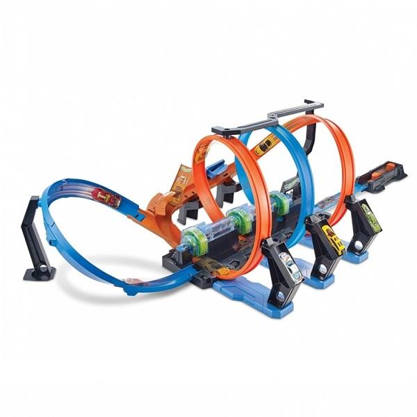 Купить Mattel Hot Wheels FTB65 Хот Вилс Игровой набор Винтовое столкновение , Игровые наборы Mattel Hot Wheels