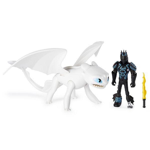 Купить Dragons 6052266 Дрэгонс Дракон и викинг (Набор 3), Игровые наборы и фигурки для детей Dragons