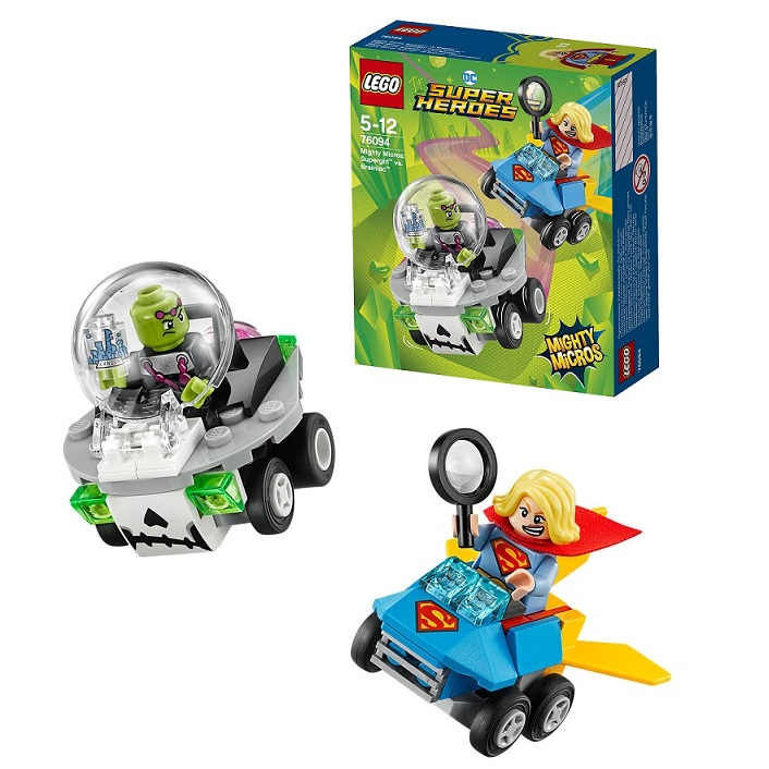 Lego Super Heroes Mighty Micros 76094 Конструктор Лего Супергёрл против Брейниака - Конструкторы LEGO