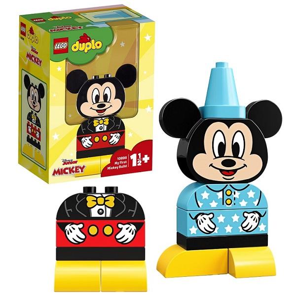 Купить Lego Duplo 10898 Конструктор Лего Дупло Дисней Мой первый Микки, Конструкторы LEGO