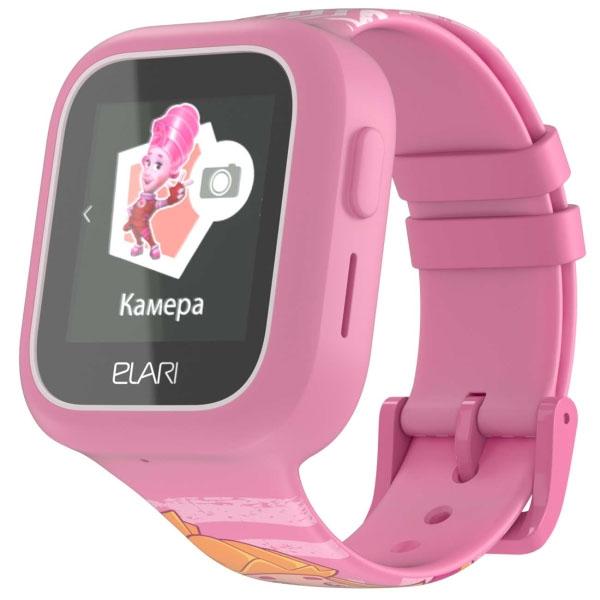 Elari ELFT-L/PNK Часы KidPhone FixiTime Lite розовые по цене 3 989