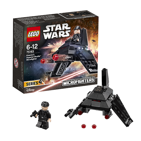 Lego Star Wars 75163 Конструктор Лего Звездные Войны Микроистребитель Имперский шаттл Кренника, арт:145342 - Звездные войны, Конструкторы LEGO