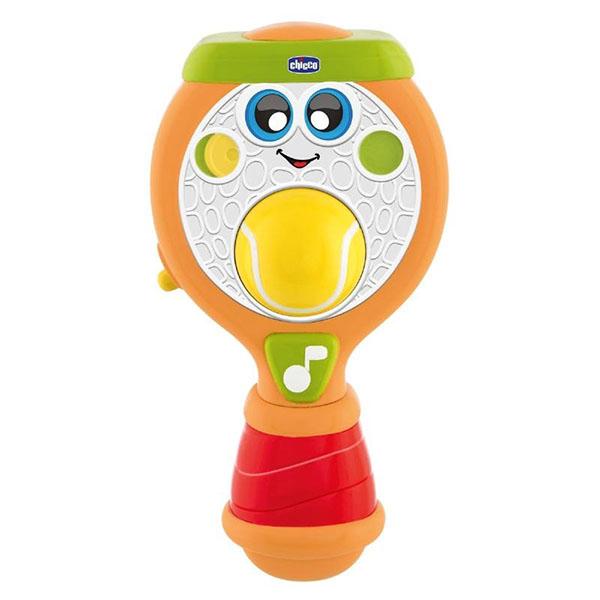 Развивающие игрушки для малышей CHICCO TOYS CHICCO TOYS 9705AR Ракетка Теннисная по цене 649