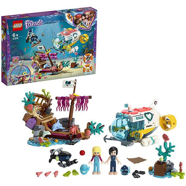 Конструкторы LEGO — LEGO Friends 41378 Конструктор ЛЕГО Подружки Спасение дельфинов