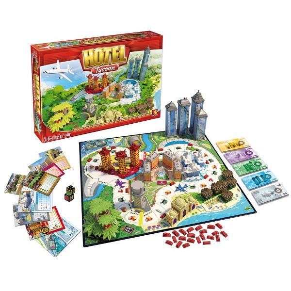 Ooba NPD2050 Настольная игра Hotel Тycoon Отель Тайкун - Настольные игры