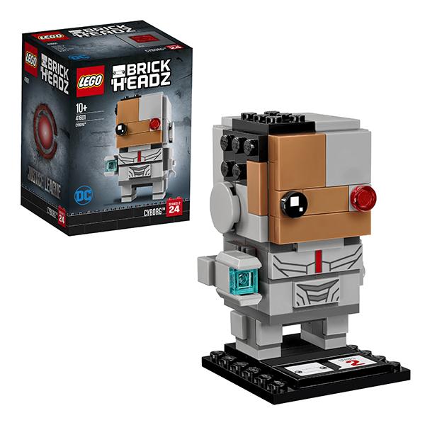 Lego BrickHeadz 41601 Конструктор Лего БрикХедз Киборг, арт:152380 - BrickHeadz, Конструкторы LEGO