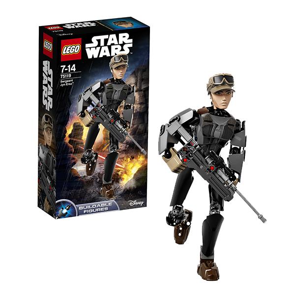 Lego Star Wars 75119 Конструктор Лего Звездные Войны Сержант Джин Эрсо, арт:142362 - Звездные войны, Конструкторы LEGO