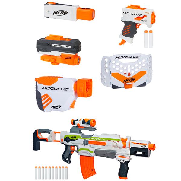 Hasbro Nerf B1538N Нерф Бластер Модулус + аксессуары - Оружие и снаряжение, артикул:151470