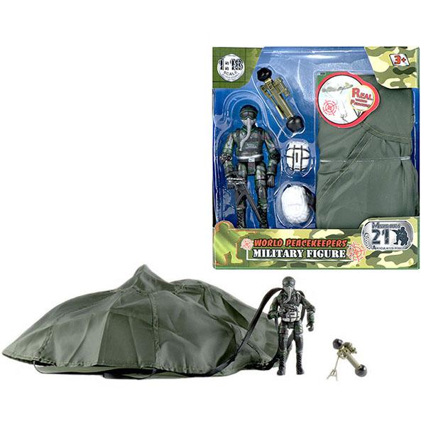 """Игровые наборы и фигурки для детей World Peacekeepers MC77015 Игровой набор """"WP. Десант"""" 1:18, 1 фигурка фото"""