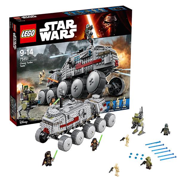 Купить Lego Star Wars 75151 Лего Звездные Войны Турботанк Клонов, Конструктор LEGO