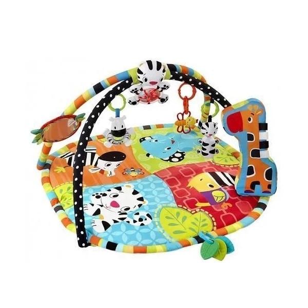 """Развивающие игрушки для малышей BRIGHT STARTS — BRIGHT STARTS 9167 Развивающий коврик """"Африка"""""""